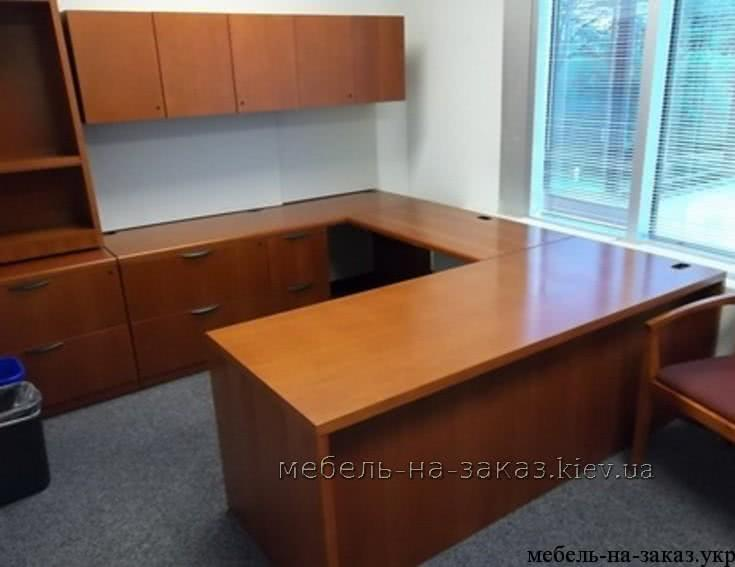 встроенная офисная мебель на заказ из дсп
