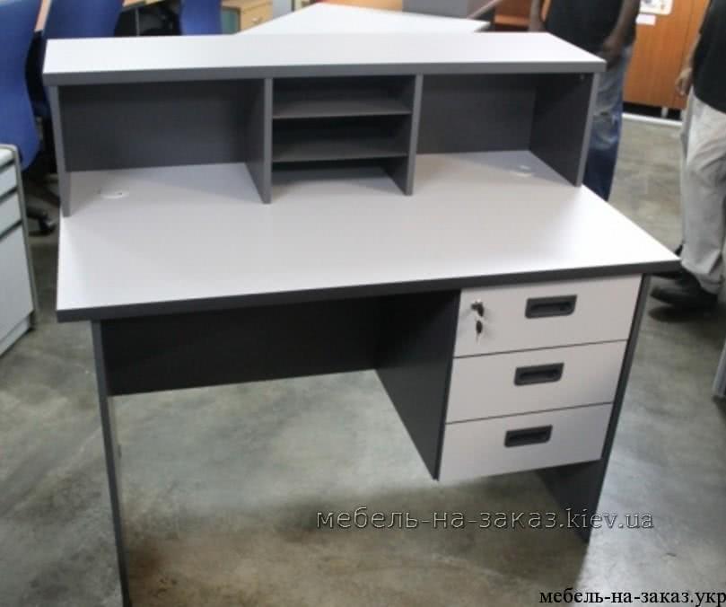офисный стол с пристройкой