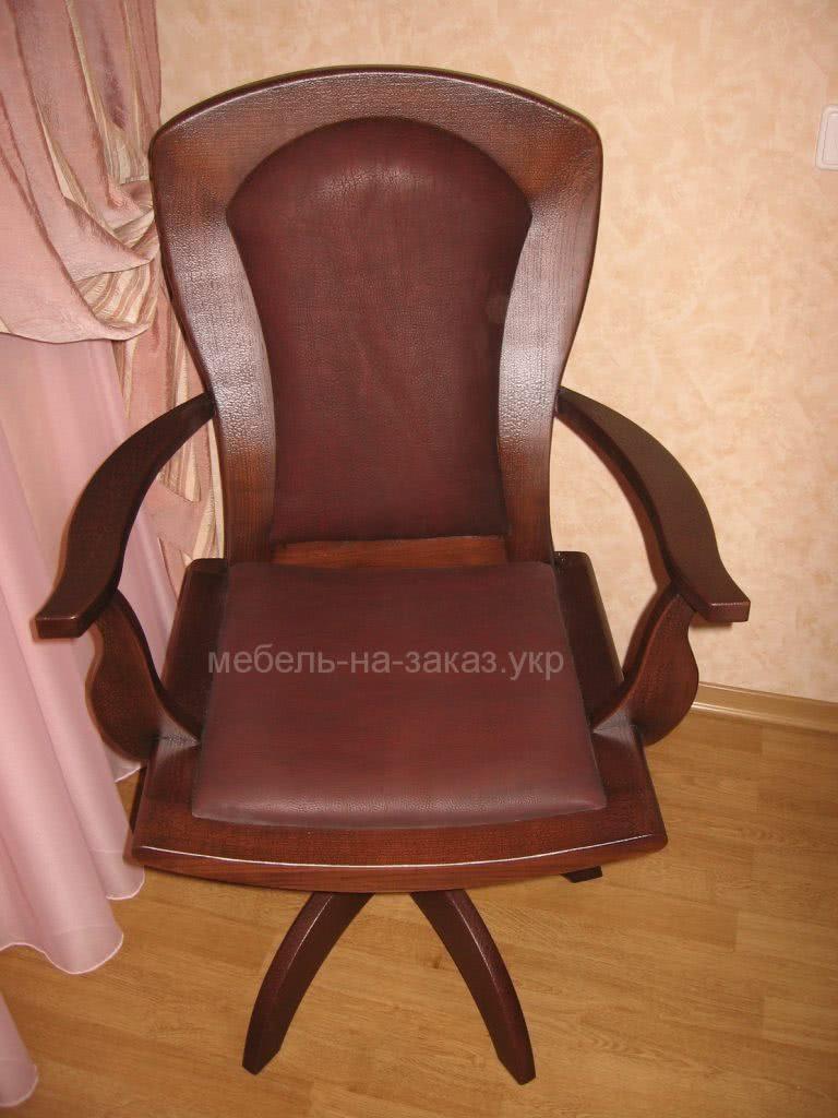 деревянное кресло на заказ