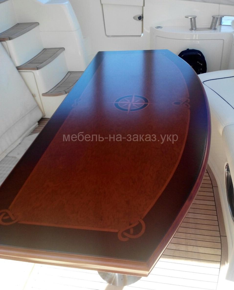 мебель для яхты на заказ
