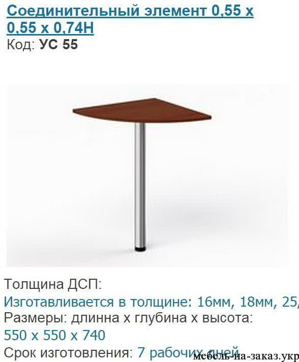 приставной элемент к столу