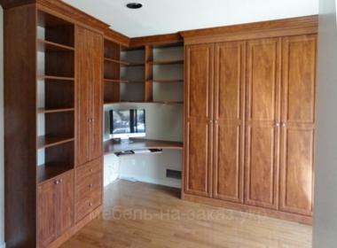 мебель на заказ гардеробные из дерева