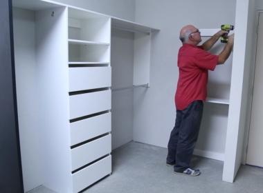 производство гардеробной комнаты на заказ