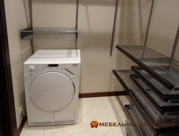 изготовить гардероб с стиральной машиинй