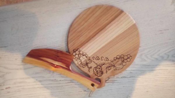 кухонная утварь с художественной резьбой по дереву на заказ
