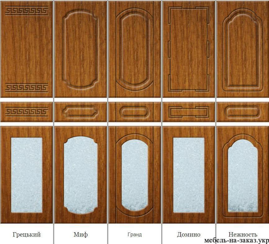 формы фасадов для мебели