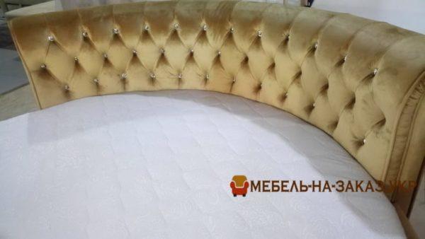 спинка радиусной кровати на заказ