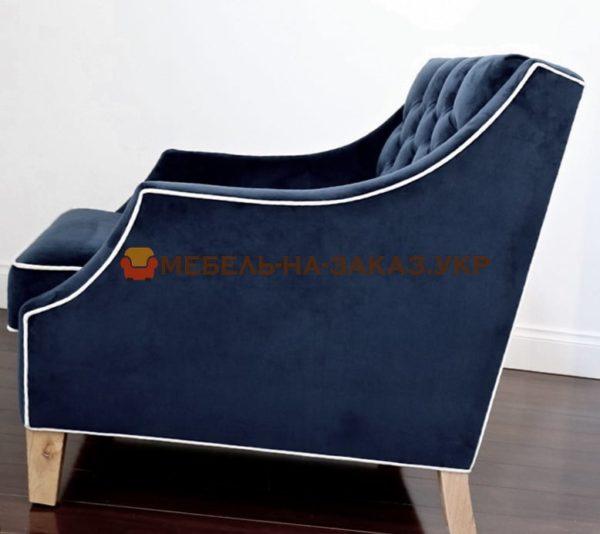 синее кресло под заказ