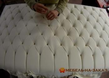 изготовление кроватей с мягким изголовьем в России