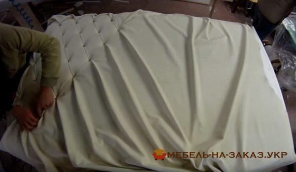 изготовление кроватей с мягким изголовьем в Украина