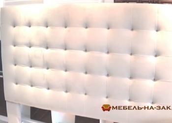 изготовление кроватей с мягким изголовьем в Москве