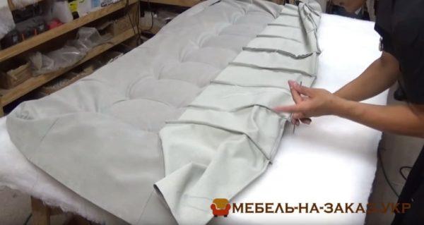 изготовление кроватей с мягким изголовьем