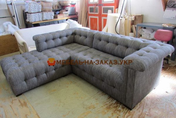 угловой диван на заказ честер