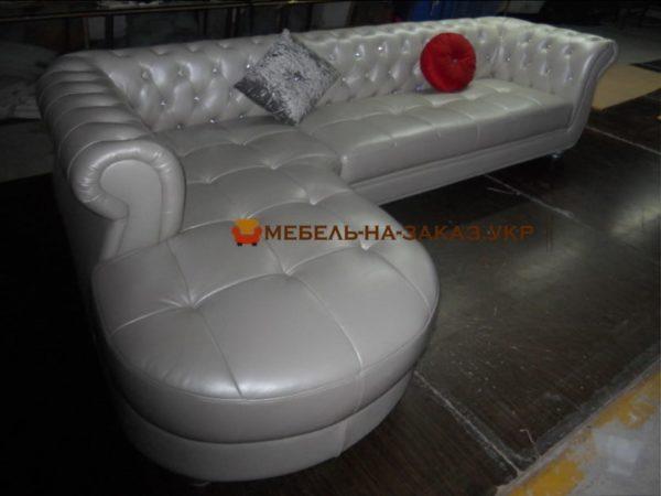 угловой диван на заказ нестандартный