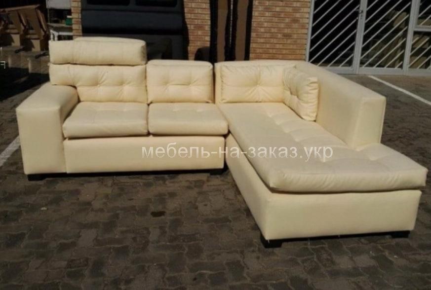 заказать изготовление углового дивана Ирпень