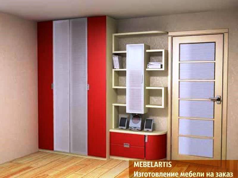Шкаф в прихожую на заказ производство мебели.