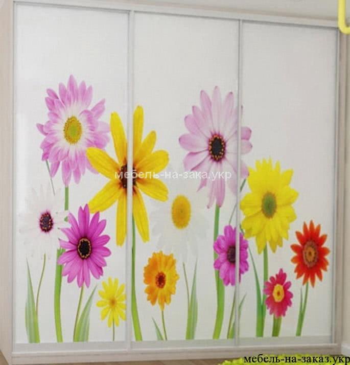 шкаф с цветами для детей