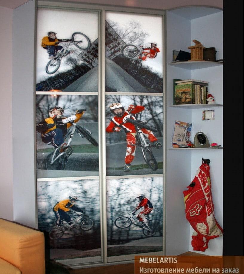 шкаф-купе для тетей на заказ с фотографиями