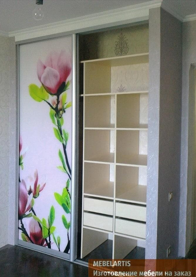 дизайнерский шкаф с фотопечатью на заказ в Одессе
