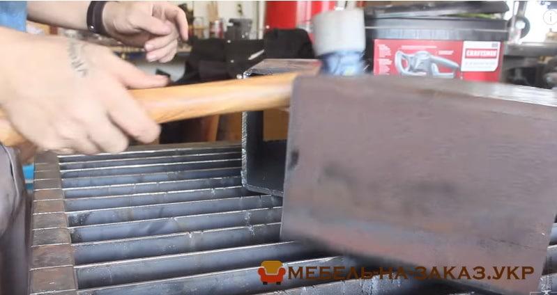 как сделатьстол лофт