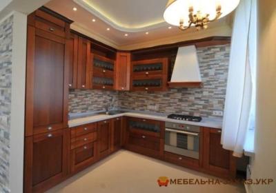 угловая кухонная мебель под заказ на Святошино
