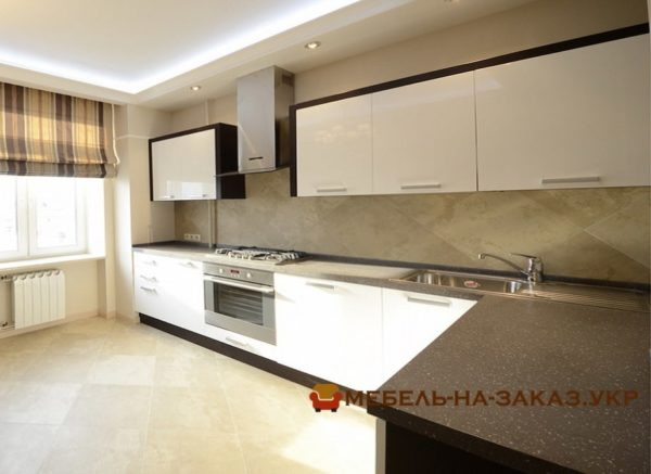 проекты угловых кухонь под заказ Киев