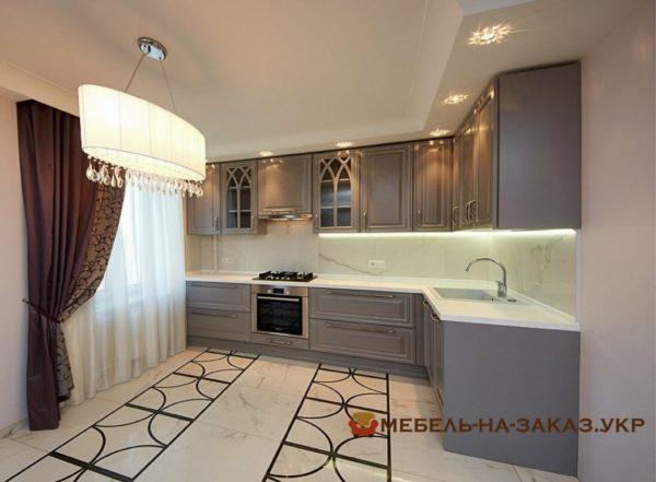 мебель для кухни с подсветкой