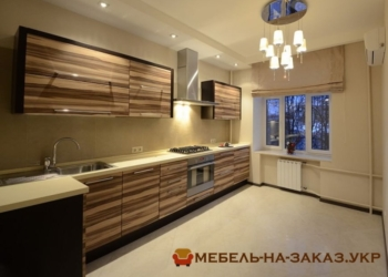 авторская деревянная кухня на заказ Ирпень