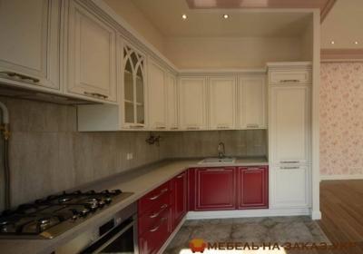 Угловая кухня под заказ (Теремки)
