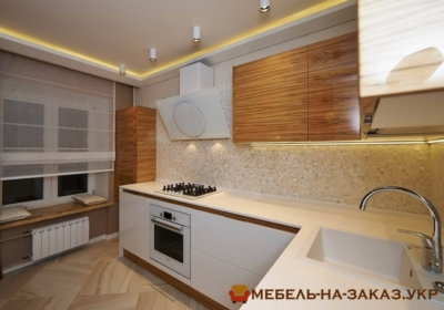 Угловая кухня из ДСП под заказ Киев