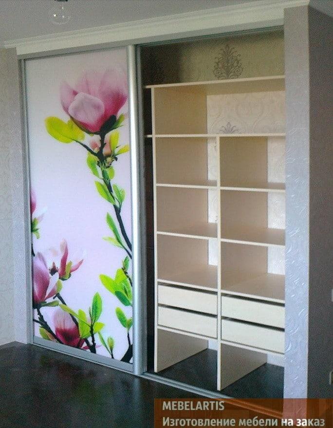 фотография цветов на мебели под заказ ФАстов