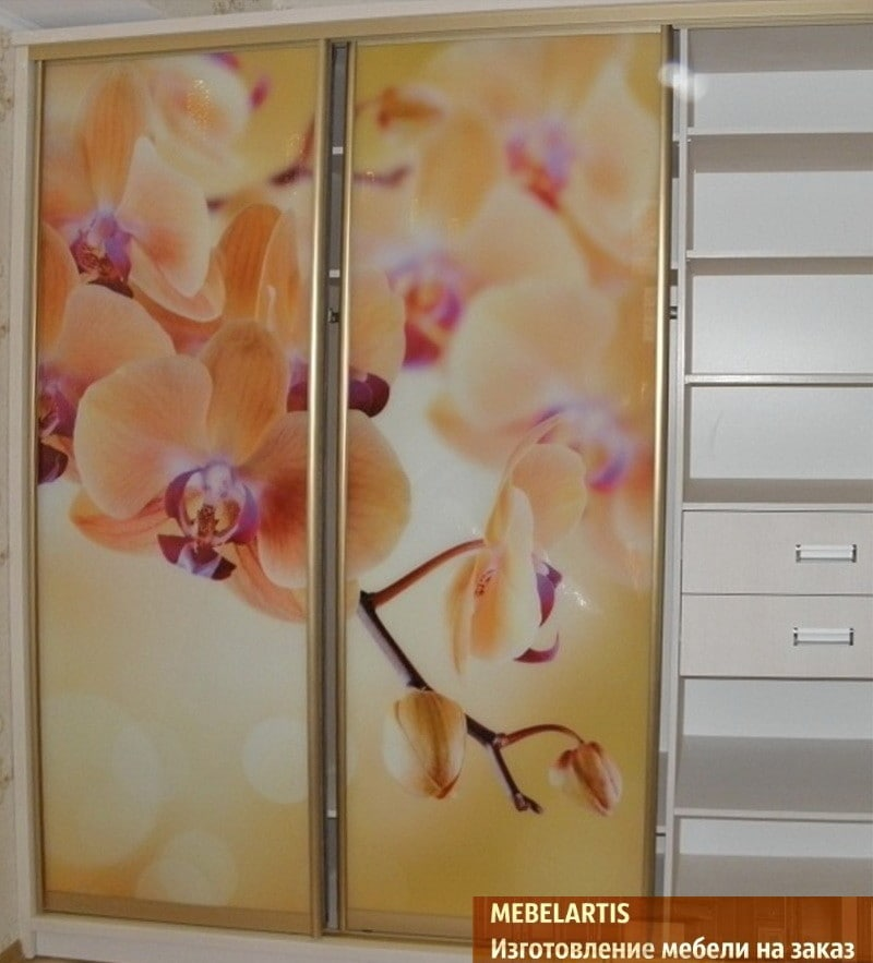 заказные шкафы с фотографией