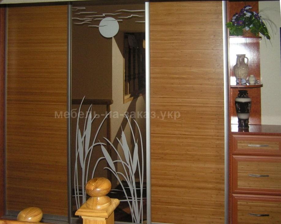 шкаф с бамбуком под заказ