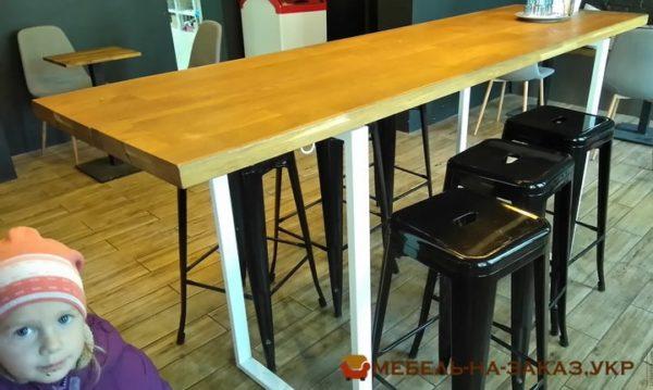 заказать стол loft для кафе