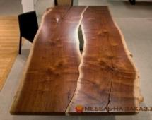 деревянные столы в стиле лофт под заказ в офис
