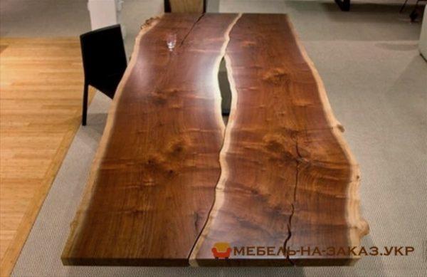 деревянные столы в стиле лофт под заказ