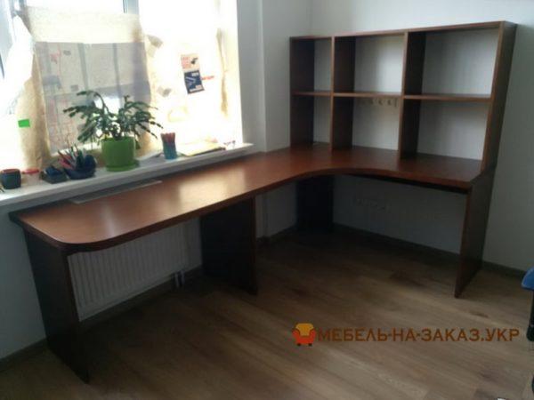 угловой стол с приставкой на заказ в Киеве