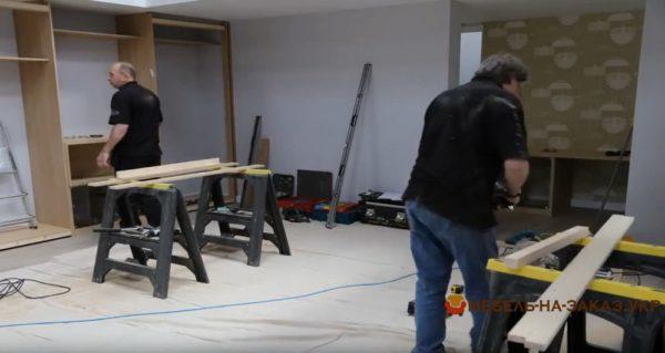 заказать мебель в гостиную под заказ в Киеве