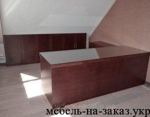 Шпонированная мебель в киеве кабинеты для руководителя.