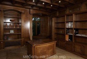 деревянные панели для кабинета под заказ