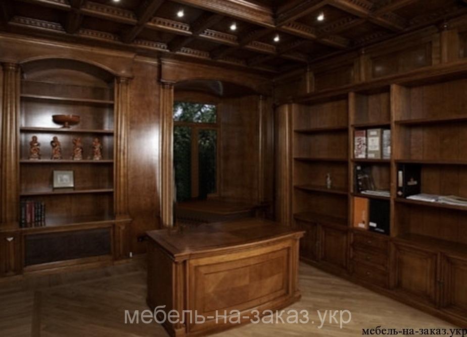 изготовление библиотечной комнаты