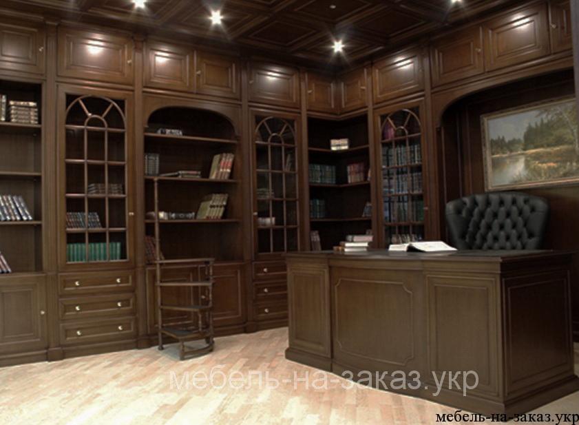 деревянный кабинет на заказ
