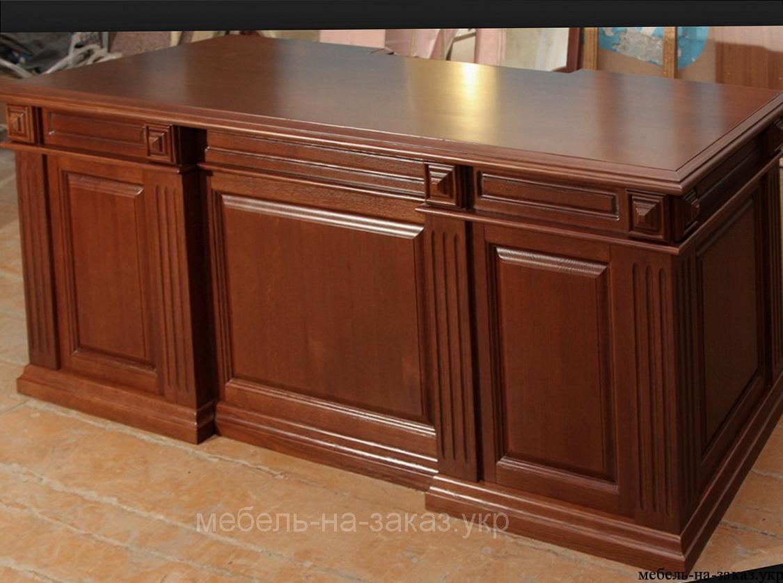деревянная офисная мебель под заказ