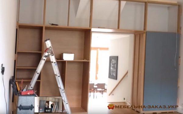 монтаж мебели для прихожей в киеве