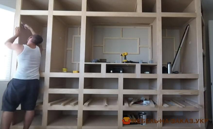 шкаф под телевизор под заказ в киеве