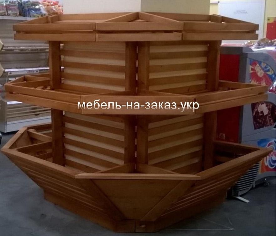 деревянные стеллажи