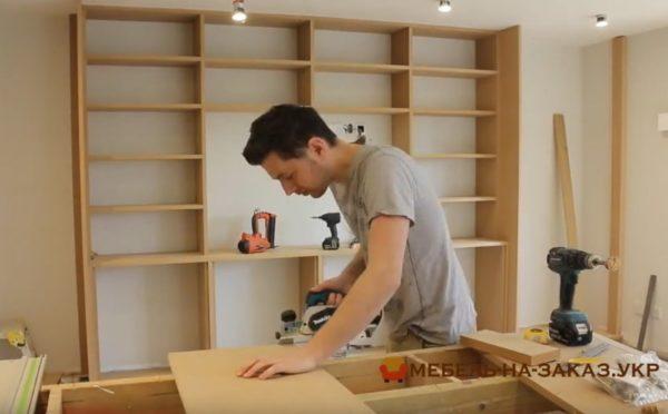 деревянная гостиная под заказ