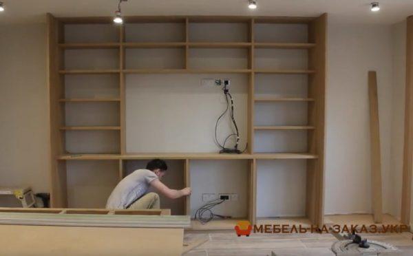 монтаж мебели в гостиную под заказ в киеве