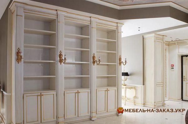 элитная деревянная мебель в гостиную