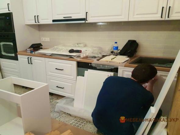 как сделать прямую кухню